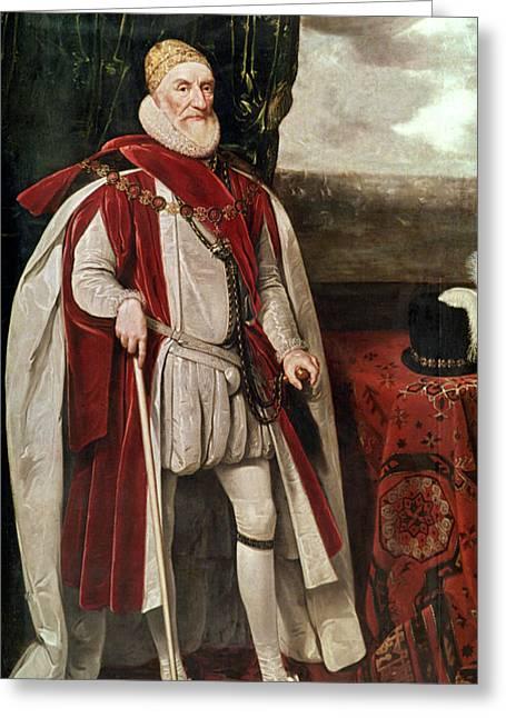 Charles Howard (1536-1624) Greeting Card by Granger