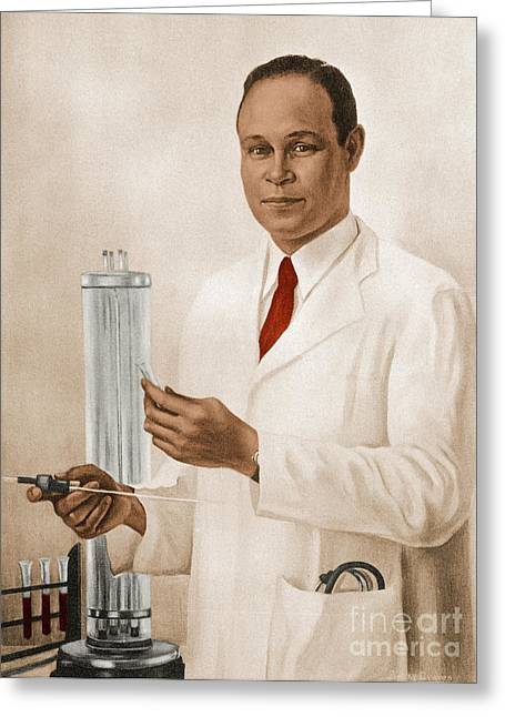 Charles R. Drew Greeting Card by Science Source