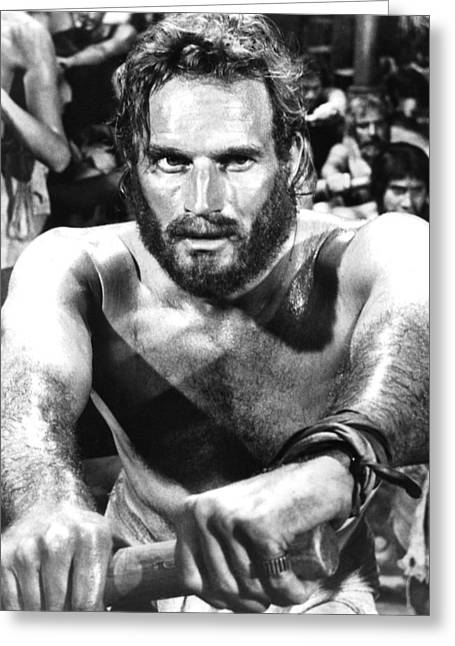 Charlton Heston In Ben-hur  Greeting Card