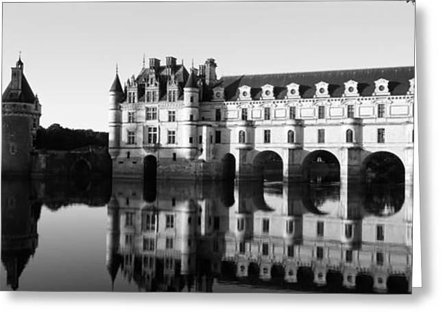 Chateau De Chenonceaux Loire Valley Greeting Card