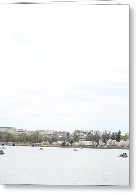 Cherry Blossoms - Washington Dc - 01133 Greeting Card