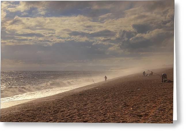 Chesil Beach Greeting Card