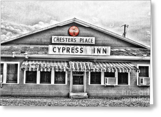 Chester's Place Greeting Card by Scott Pellegrin