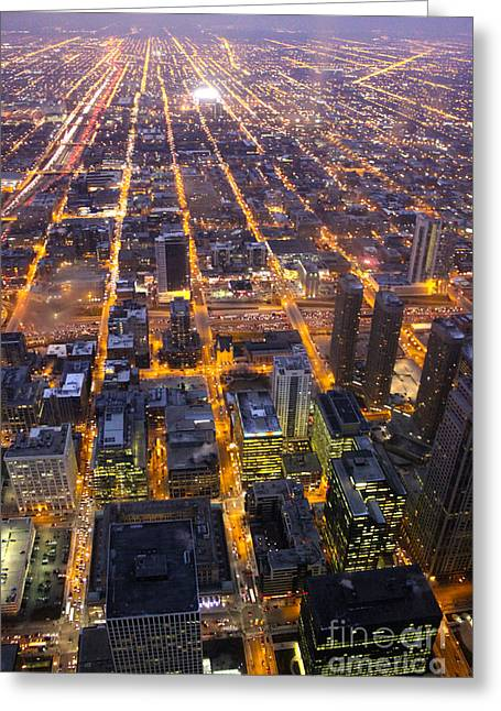 Chicago City View Greeting Card