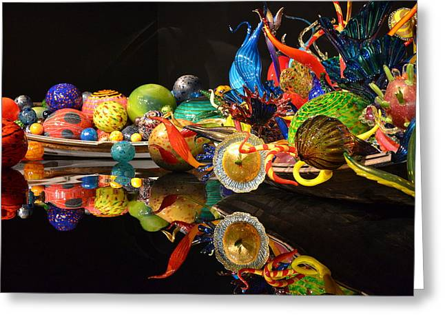 Chihuly-14 Greeting Card by Dean Ferreira