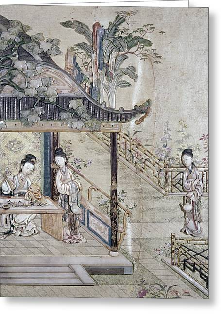 China Virtuous Ladies Greeting Card by Granger