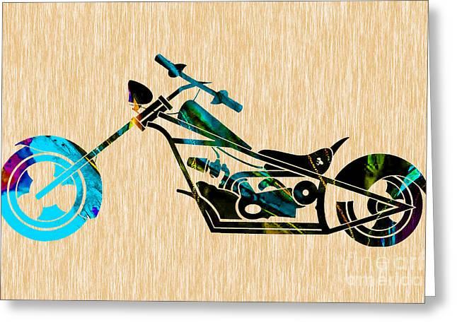 Chopper Art Greeting Card