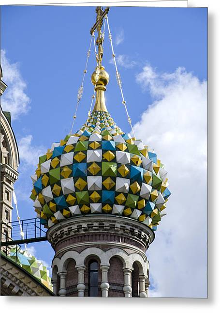 Church Of The Spilled Blood - St. Petersburg Russia Greeting Card