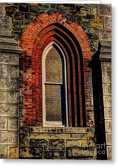 Churches On Church Street Greeting Card
