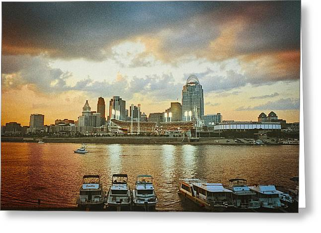 Cincinnati Ohio IIi Greeting Card
