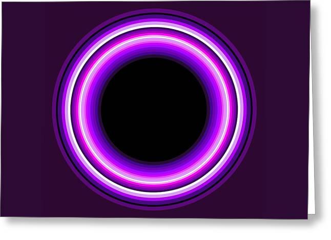 Circle Motif 144 Greeting Card by John F Metcalf