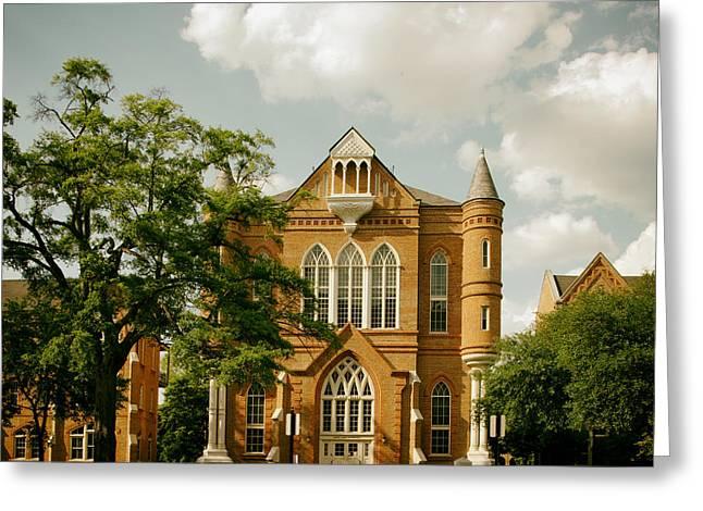 Clark Hall - University Of Alabama Greeting Card
