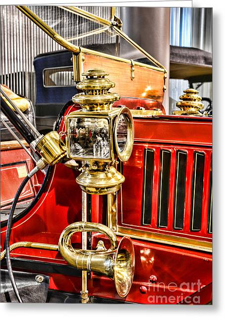 Classic Car - 1906 Stanley Steamer Greeting Card by Paul Ward