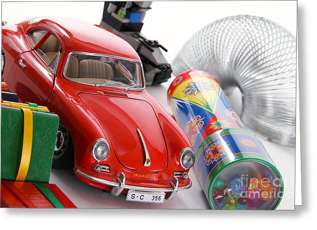 Classic Toys Greeting Card by Photo Researchers