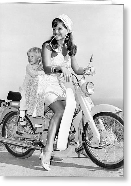 Claudia Cardinale In Don't Make Waves  Greeting Card