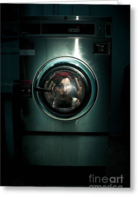 Cleaning Problems Greeting Card by Jorgo Photography - Wall Art Gallery
