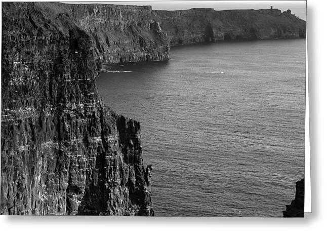 Cliffs Of Moher View Greeting Card