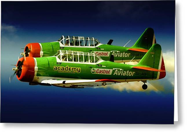 Close Formation Greeting Card by Paul Job