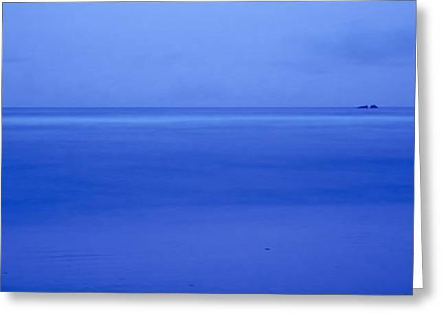 Cloud Over The Sea At Dusk, Bandon Greeting Card