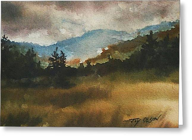 Clouds And Sunlight Greeting Card