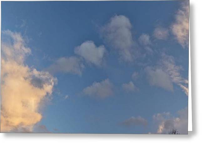 Clouds Greeting Card by Larry Darnell
