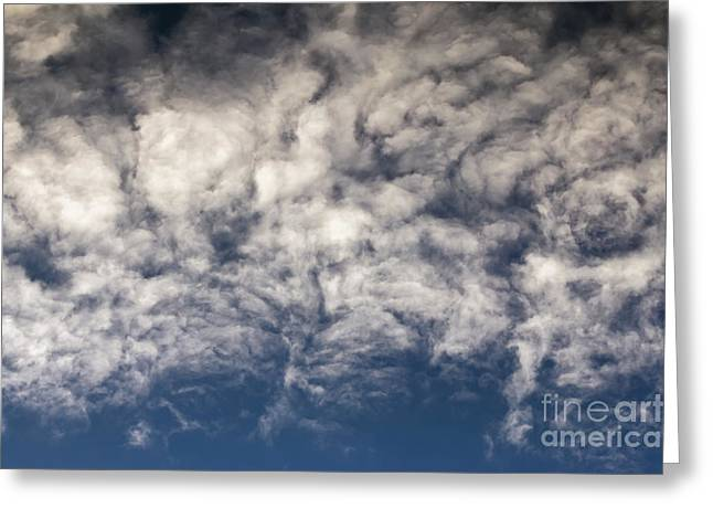 Clouds Greeting Card by Michal Boubin
