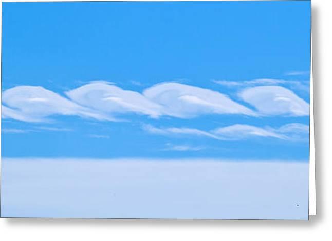 Cloudscape Greeting Card by Michelle Wiarda