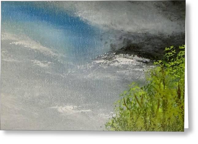 Cloudy Sky Greeting Card by Tim Townsend