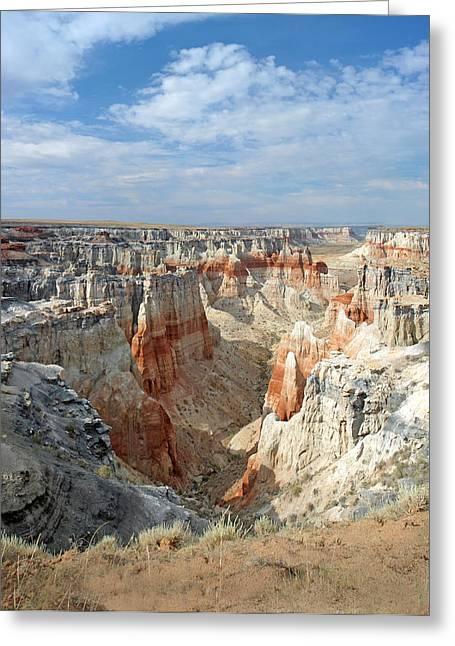 Coal Mine Mesa 14 Greeting Card