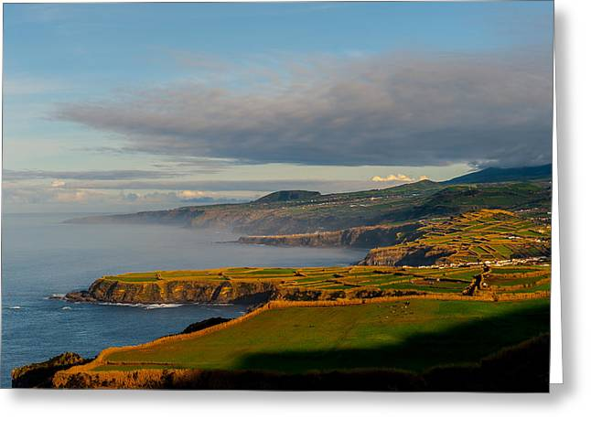 Coast Of Heaven Greeting Card