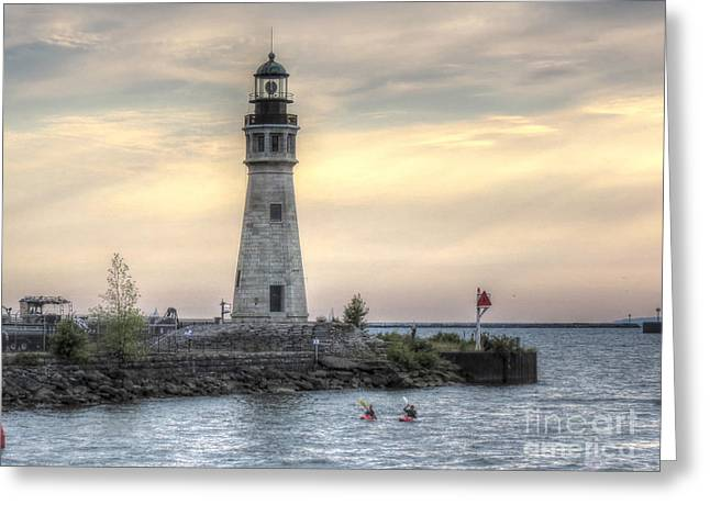 Coastguard Lighthouse Greeting Card