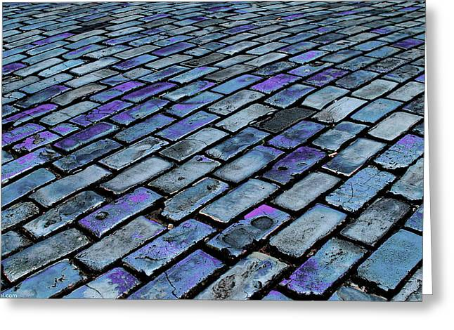Cobblestones From Ship's Ballast Or Greeting Card by Miva Stock