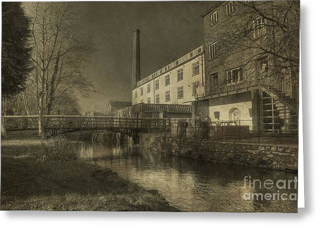 Coldharbour Mill  Greeting Card by Rob Hawkins