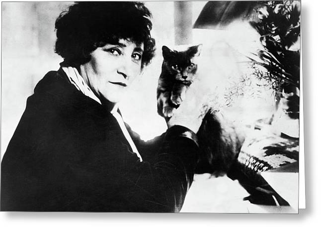 Colette (1873-1954) Greeting Card