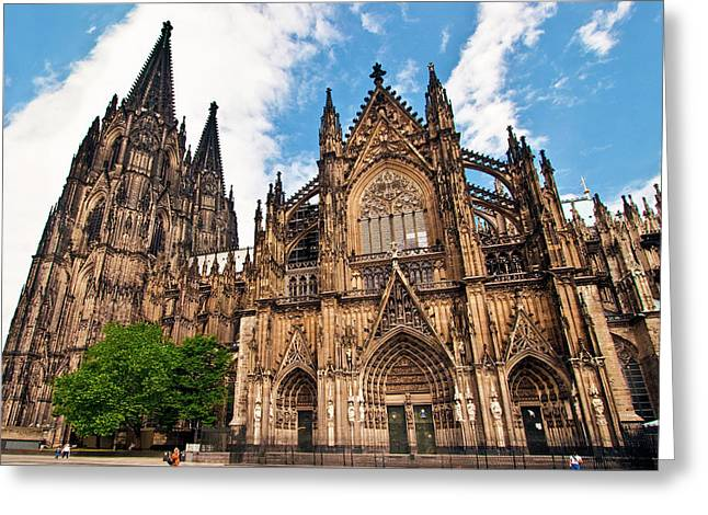 Cologne Cathedral, Cologne, Germany Greeting Card by Miva Stock
