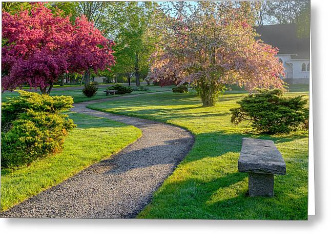Color Of Spring Greeting Card by Bill Wakeley