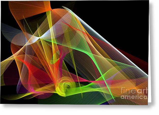 Color Symphony Greeting Card by Rafael Salazar