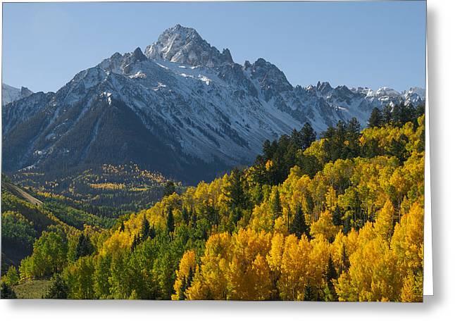 Colorado 14er Mt. Sneffels Greeting Card