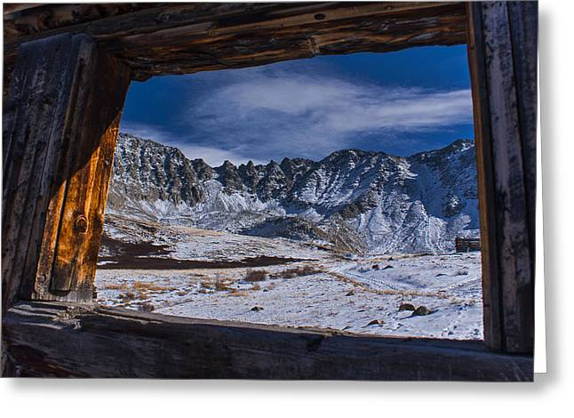 Colorado Mayflower Gulch Greeting Card by Michael J Bauer