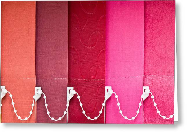 Colorful Blind Greeting Card by Tom Gowanlock