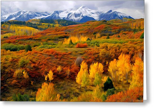Colorful Colorado At It's Best Greeting Card