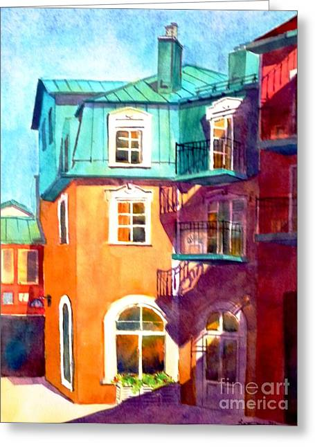 Colourful Tremblaunt Greeting Card