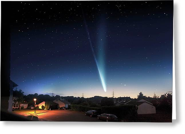 Comet Ison Greeting Card