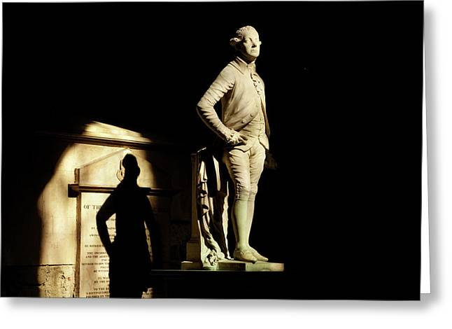 Commemorative Statues Of Benefactors Greeting Card by Panoramic Images