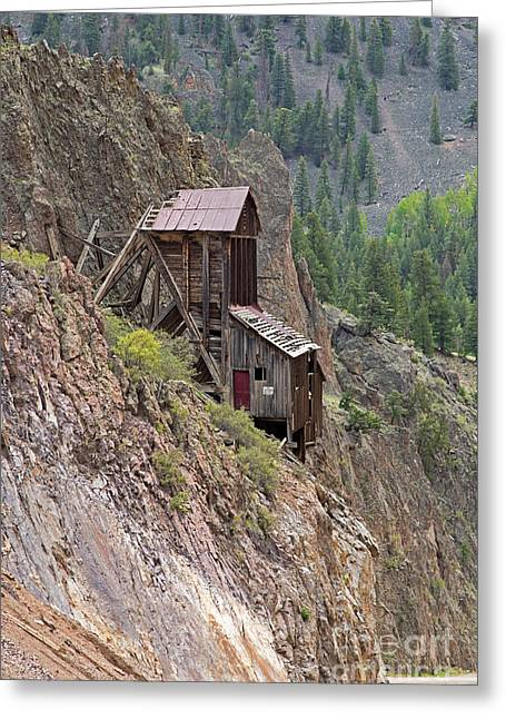 Commodore Mine On The Bachelor Historic Tour Greeting Card
