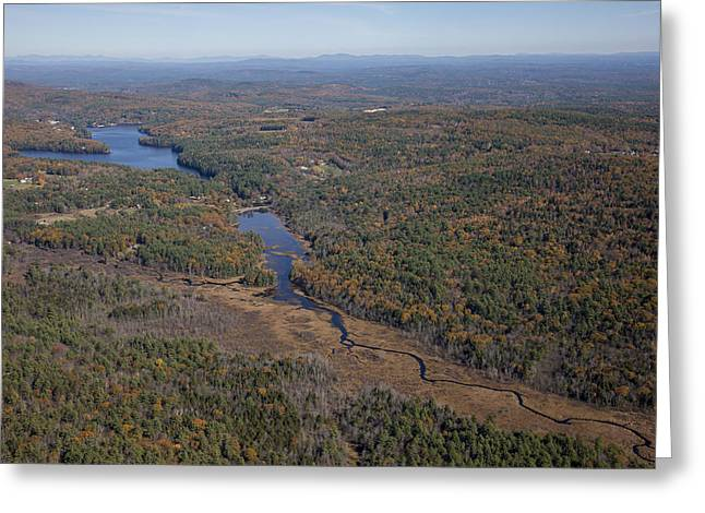 Concord Outskirts, New Hampshire Greeting Card