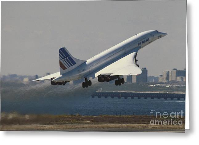 Concorde Greeting Card
