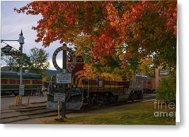 Conway Scenic Railroad Greeting Card