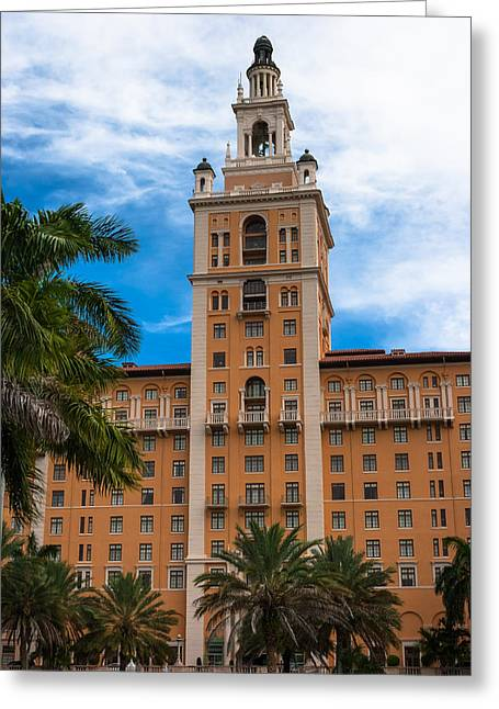 Coral Gables Biltmore Hotel Greeting Card