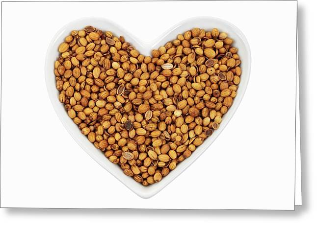 Coriander Seeds Greeting Card